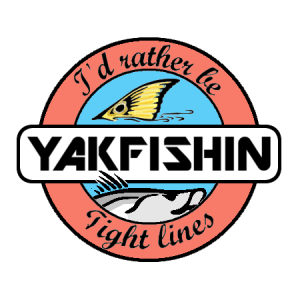 Yakfishin sign that says I'd rather be Yakfishin - Tight lines