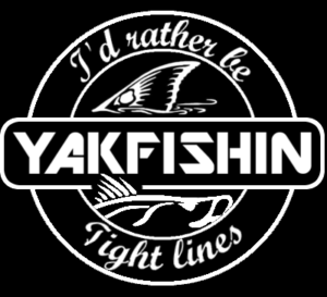 Yakfishin Sign - Florida Kayak Fishing